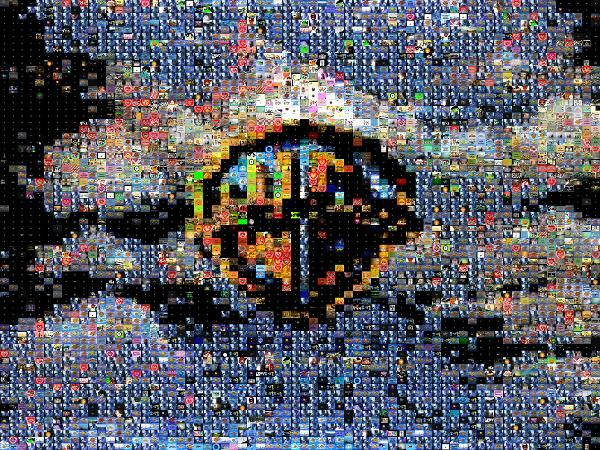 Logo photo mosaic