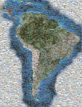 South America Globe Map Image Blank map Satellite imagery Geography Continent Physische Karte History water resources earth sky aerial photography river delta world