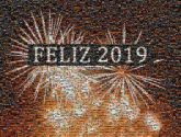 Happiness 2019 New Year Wish Feliz Año 2019 Love Image 2018 Disappointment fireworks text event sparkler new year