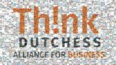 Think Dutchess Alliance for Business Logo Brand Product text orange font line area graphics