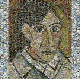 Pablo Picasso Self-Portrait Artist Self-portrait Art Portrait Self-Portrait Cubism Pablo Picasso, 1881-1973: Genius of the Century Modern art self portrait painting illustration human behavior acrylic paint drawing