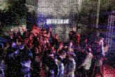 Concert Nightclub People Red Crowd Light Magenta Purple Performance Event Pink