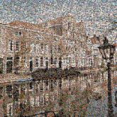 Canal Waterway Reflection Town Building Channel Architecture Neighbourhood City