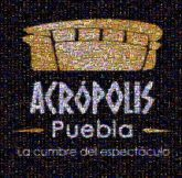 Acrópolis Puebla Logo Acrópolis Font Yellow Text Orange Brand Graphics Illustration Clip art
