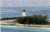 Lighthouse Tower Water Promontory Sea Shore Beacon Inlet Coast Sky