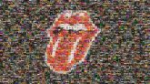 The Rolling Stones (I Can't Get No) Satisfaction Musician Logo The Rolling Stones UK Tour 1971 Red Lip Tooth Mouth Tongue Organ Illustration Font Human body