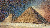 The Great Pyramid of Giza Egyptian pyramids Pyramid ScanPyramids Ancient Egypt Wallpaper Pyramids - Original Mix Monument Landmark Ancient history Sky Historic site Wonders of the world Unesco world heritage site Tourist attraction