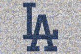 Los Angeles Dodgers MLB 2019 Los Angeles Dodgers season Los Angeles Angels Los Angeles Arizona Diamondbacks Baseball Logo Electric blue Text Font Cobalt blue Line Brand Trademark Graphics Company