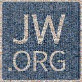 Logo JW.ORG Electric blue Text Font Line Rectangle Square Icon