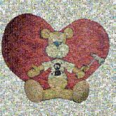 Teddy bear Stuffed toy Cartoon Red Heart Illustration Clip art Love Valentine