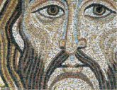 Christ Pantocrator Head of Christ Icon Mosaic Holy Face of Jesus Byzantine art Christian art Depiction of Jesus Architecture Visual arts Mural Portrait