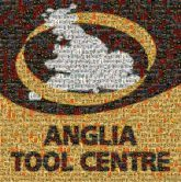 Anglia Tool Centre Text Yellow Font Logo Graphics Brand