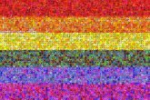 Rainbow flag Gay pride Portable Network Graphics Flag Scalable Vector Graphics Rainbow flag Wallpaper LGBT symbols Wikimedia Commons Rainbow Violet Yellow Green Blue Purple Red Orange Colorfulness Magenta Line