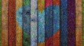Wood Blue Yellow Painting Line Colorfulness Wood stain Textile Modern art