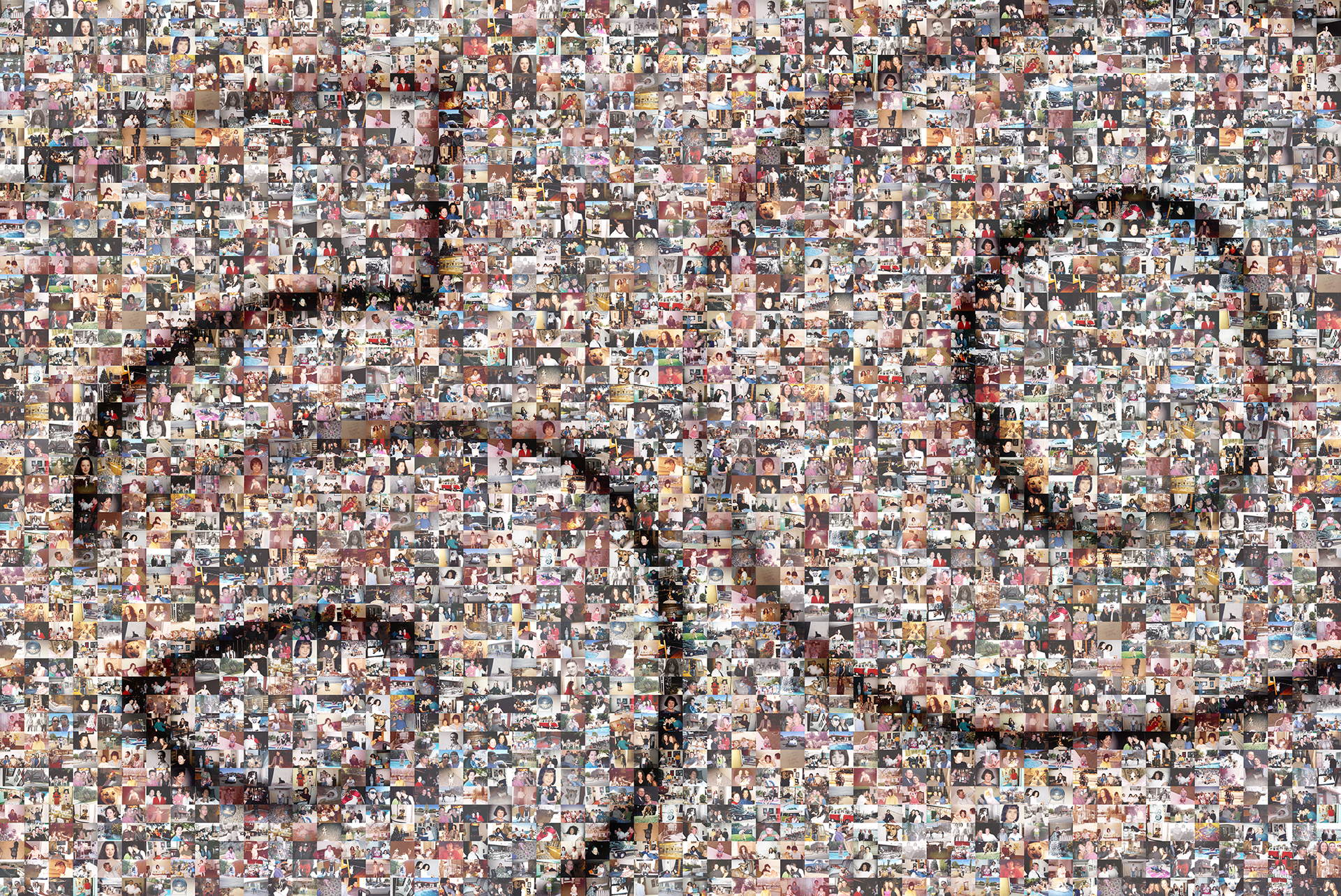 photo mosaic this birthday mosaic was created with 431 photos of family and friends