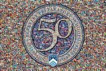 This tri-layer mosaic was created using 708 school photos