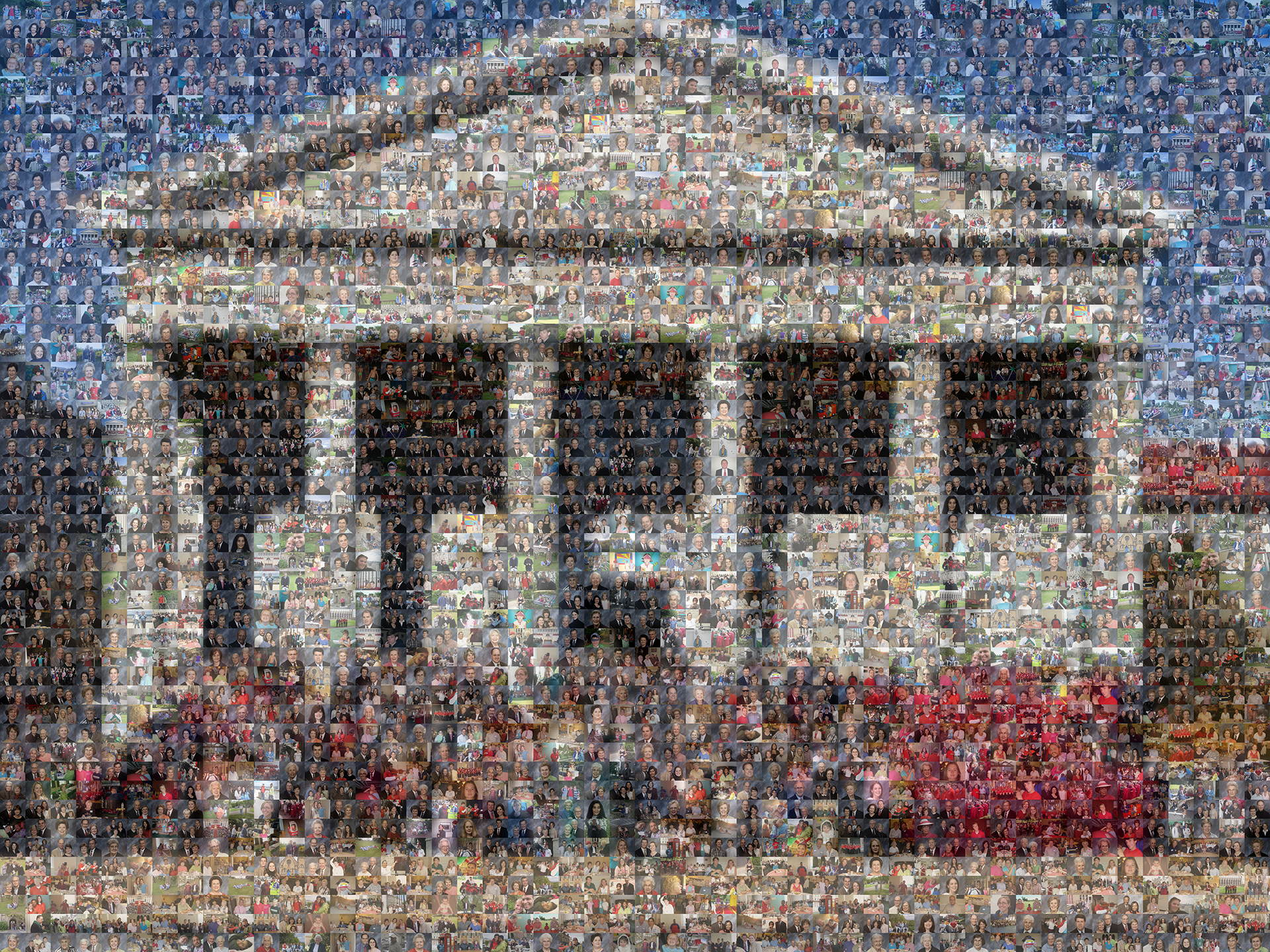 photo mosaic church fund raising mosaic poster using 530 customer selected photos