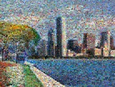 created using over 1080 photos of children and their art
