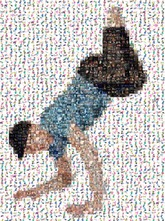 created using 303 photos of dancers