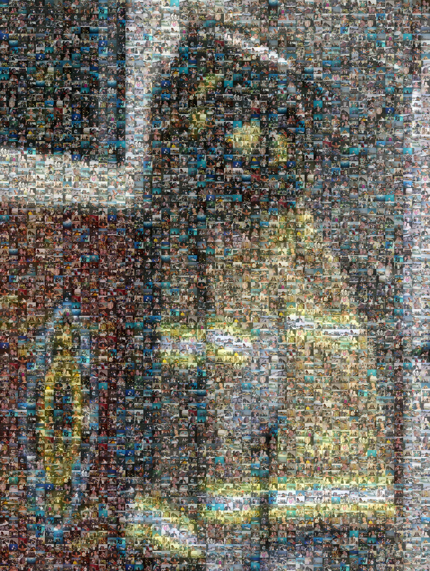 photo mosaic created using 220 customer submitted photos
