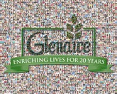 266 employee photos make up this company mosaic