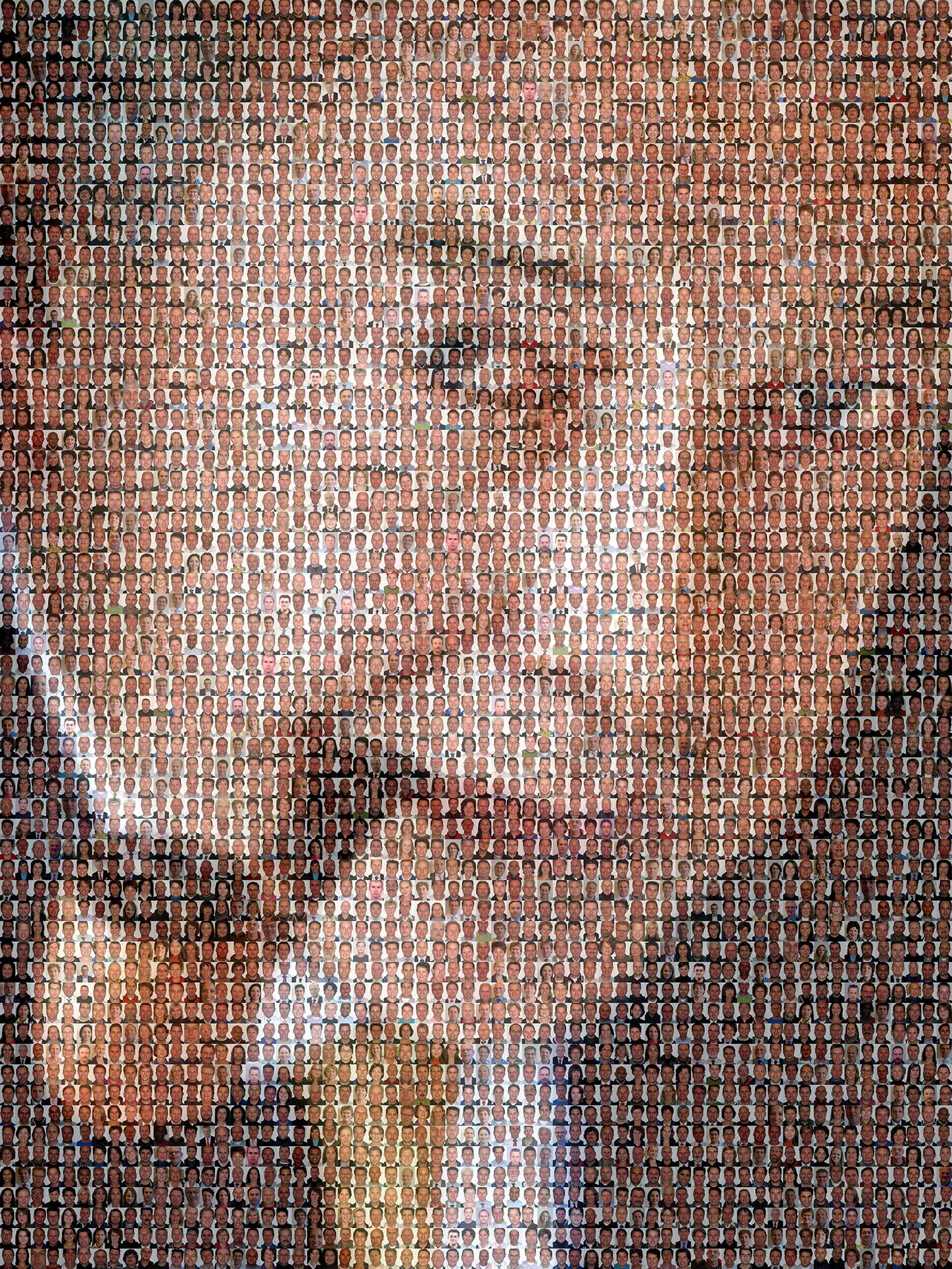 photo mosaic created using 639 business photos