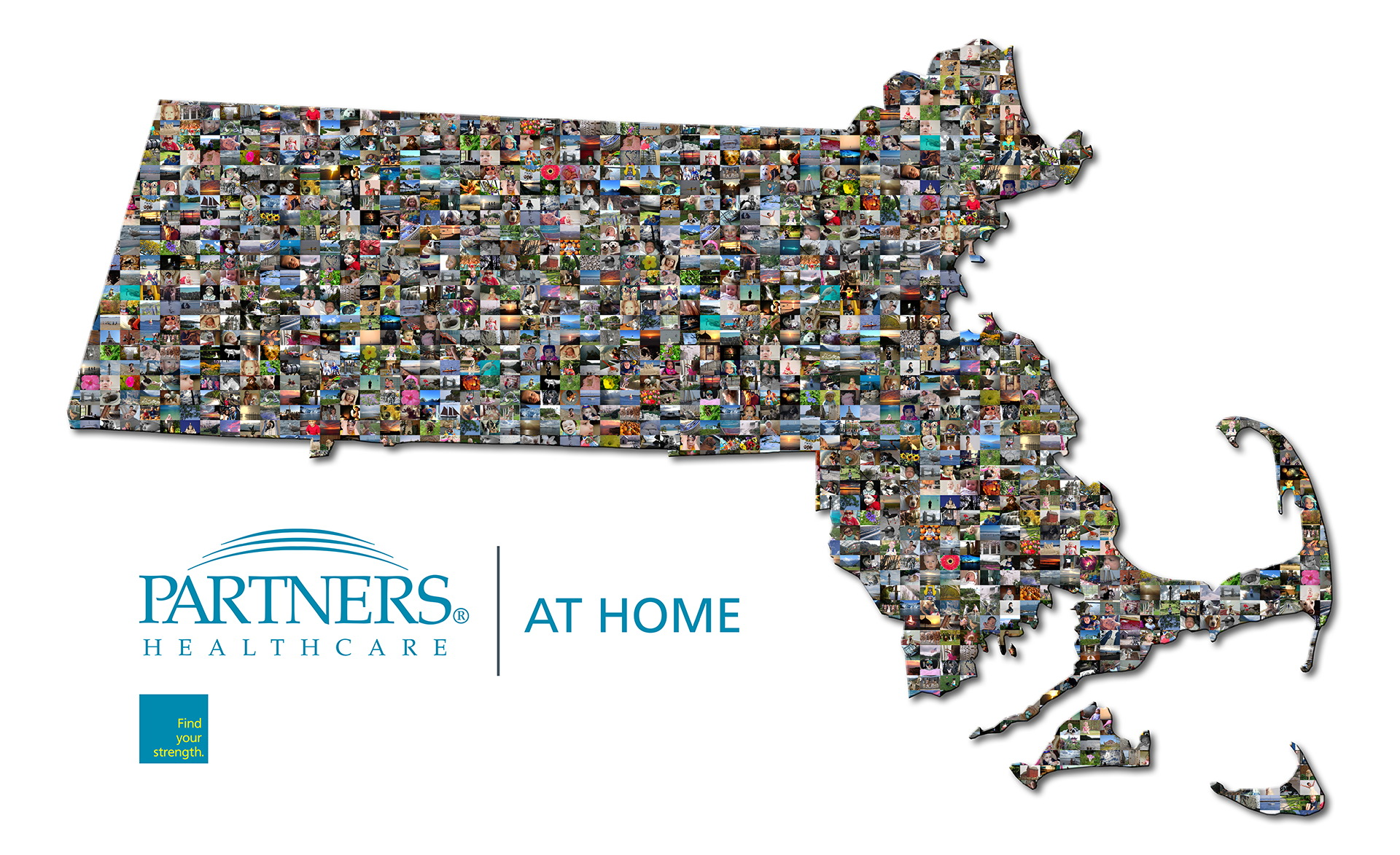photo mosaic this Partner's Healthcare mosaic was created using over 500 community photos