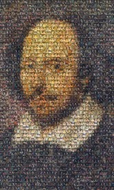 created using 340 photos taken during the different Shakespeare